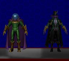 Model DL: Marvel Super War Mysterio Pack