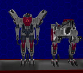 Model DL: Transformers Earth Wars Dinobot 2 by WOLFBLADE111