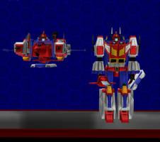Model DL: Transformers Earth Wars Star Saber