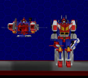 Model DL: Transformers Earth Wars Star Saber by WOLFBLADE111