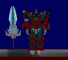 Model DL: Transformers Earth Wars Victorion