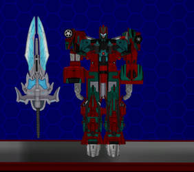 Model DL: Transformers Earth Wars Victorion by WOLFBLADE111