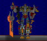 Model DL: Transformers Earth Wars Volcanicus by WOLFBLADE111