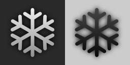 Snow Flake (plain weather icon style)