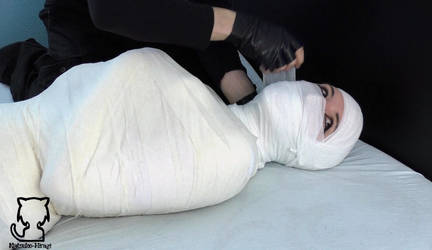 The case of the mummified police woman video