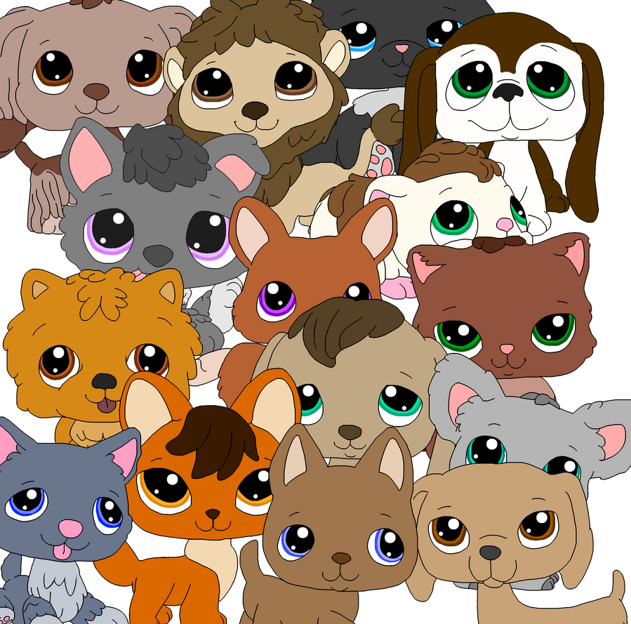 Littlest Pet Shop Traced Base By MasaiMisfortune On DeviantArt