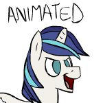 Shining Armor Plays Volley Ball ANIMATED