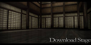 MMD Stage - Dojo