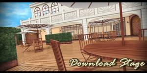 MMD Stage - Cafe