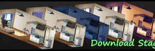 MMD Stage - Small Apartment