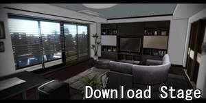 MMD Stage - Fancy Apartment