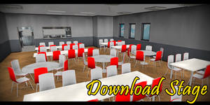 MMD Stage - School Cafeteria
