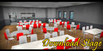 MMD Stage - School Cafeteria by Mr-Mecha-Man
