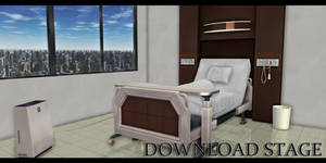 MMD Stage - Hospital Patient Room 1