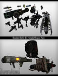 MMD - Resident Evil Remake Weapons Pack [Download]