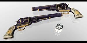 MMD Resident Evil 8 - Wolfsbane Magnum -DOWNLOAD-