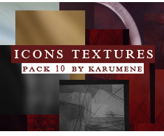 Icons Texture Pack 1 by karumene