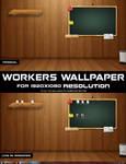 Workers wallpaper