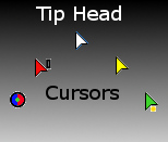 Tip Head Cursors by karl19981