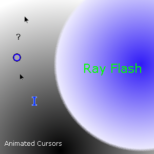 Ray Flash Cursors by karl19981