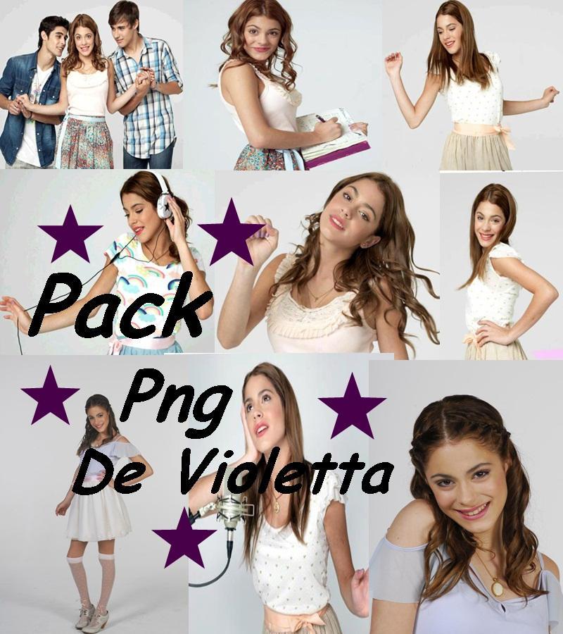 Pack png de Violetta de Disney by Vilunatika