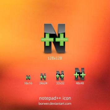 my notepad++ icon v2.0