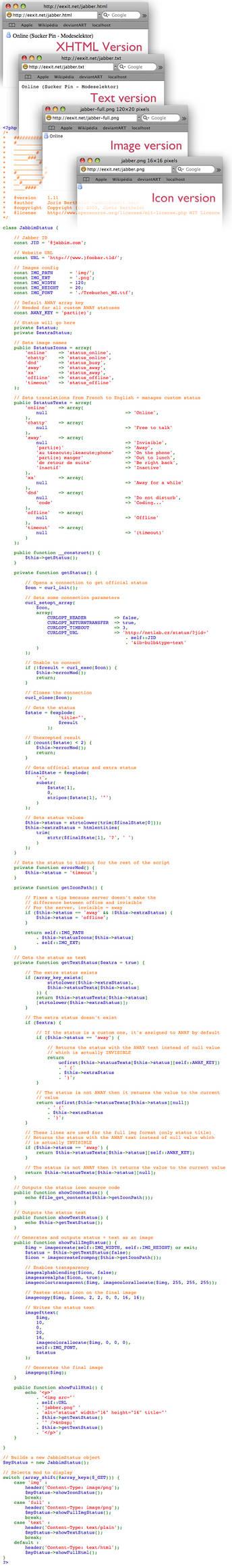 JabbimStatus 1.11
