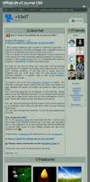 Official dA v5 journal CSS