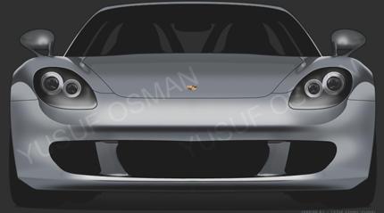 Car Digital Drawing Tutorial by Flame-X