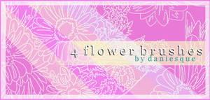 Photoshop 7.0 Flower Brushes