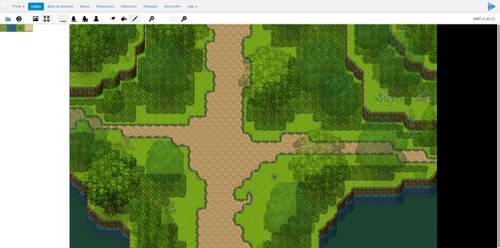 Test level design on RPG Creator by ZewiSkaaz