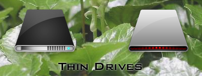 Thin Drives icon by susumu-Express