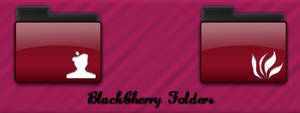 BlackCherry Folders icon