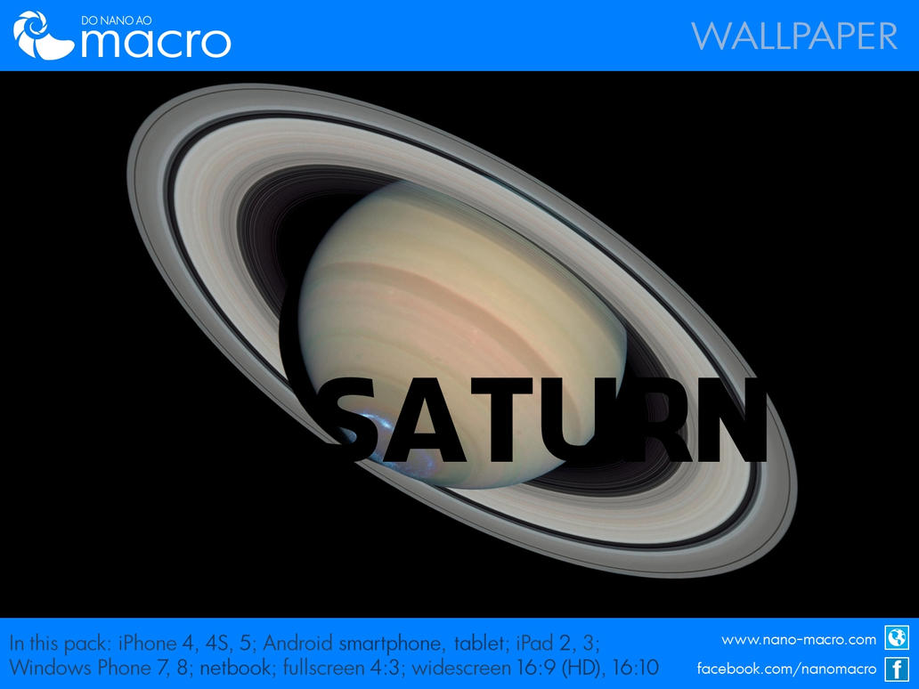 Wallpaper Saturn by thedeiwz