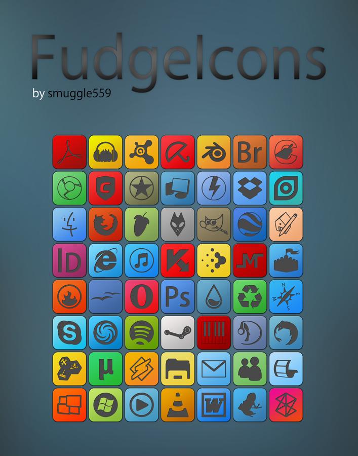 FudgeIcons I by smuggle559