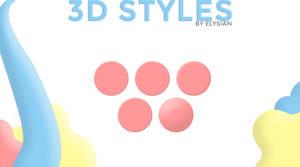 3D styles