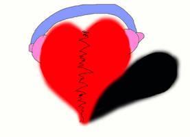 Music heals a broken heart