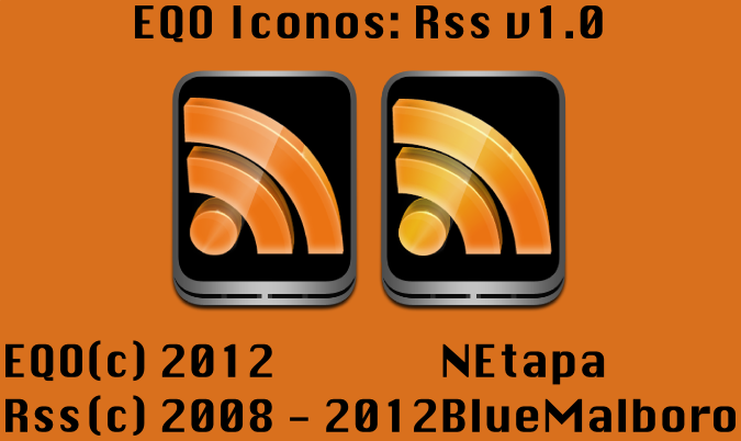 EQO Iconos: Rss by NEtapa