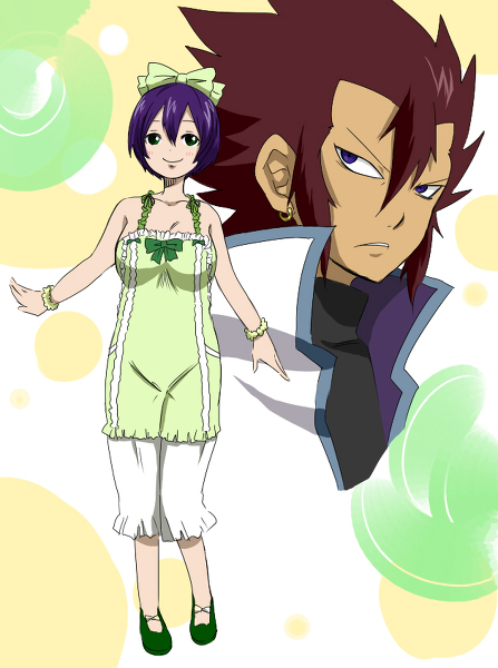 Kinana Fairy Tail 7 Years Ago