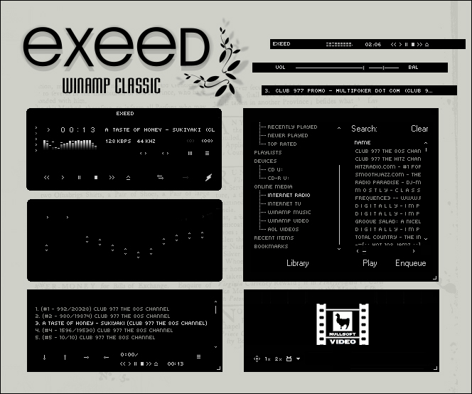 Exeed Winamp Classic by Nylons