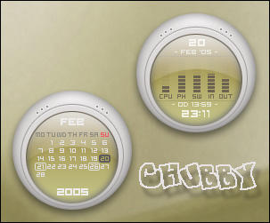 Chubby Rainmeter by Nylons
