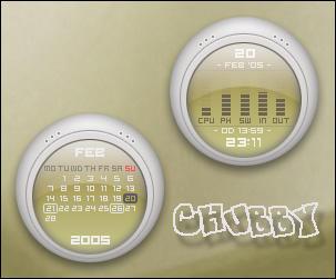 Chubby Rainmeter by Nylons