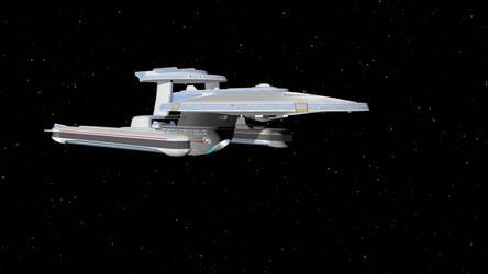 Denver-Class Starship (blender file) by sm12905