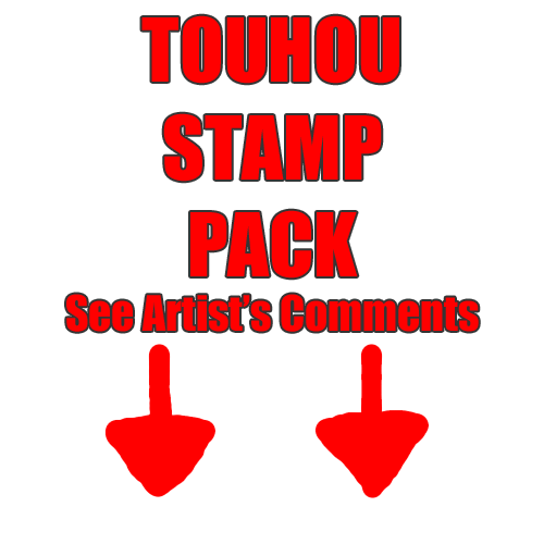 TOUHOU STAMP PACK 1 by mobbostamps