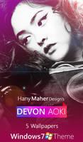Devon Aoki  - Windows 7 Theme