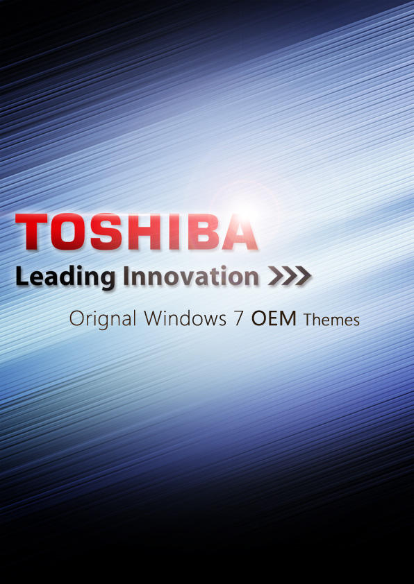 Windows 7 OEM Toshiba Themes by Domino333