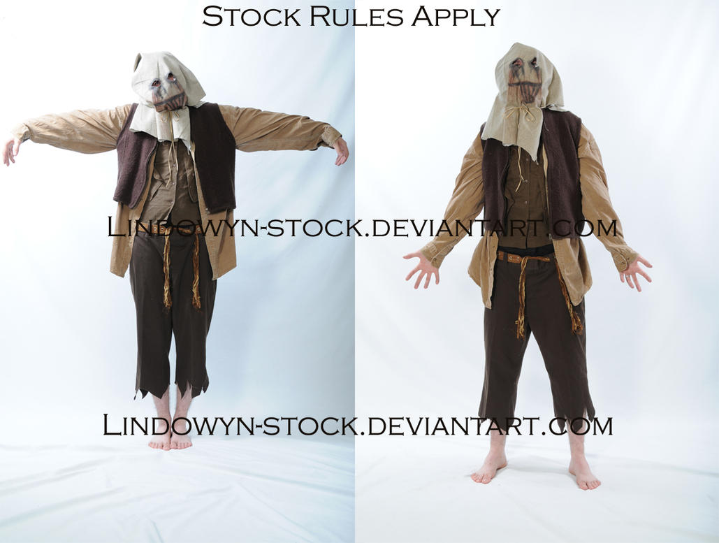 Scarecrow1 by lindowyn-stock