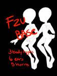 F2U satyr/CS base! by puppygutz
