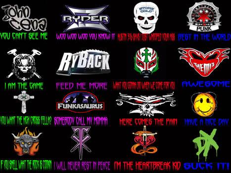 WWE Superstar Catch phrases