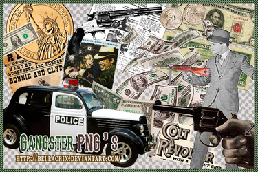 Gangsters PNG's by Bellacrix